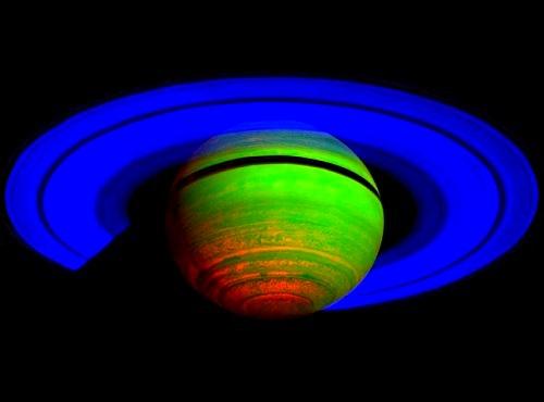 Saturno infrarrojos