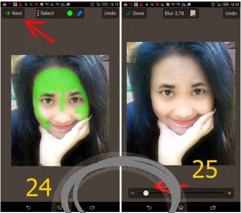 Tutorial Edit Wajah Cantik dengan PicSay Pro Android