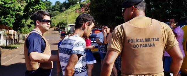 Nova Cantu: Homem é preso no momento que furtava residência