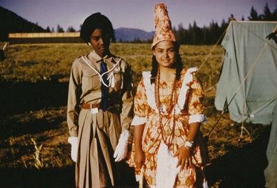 Haitian Girl Scouts
