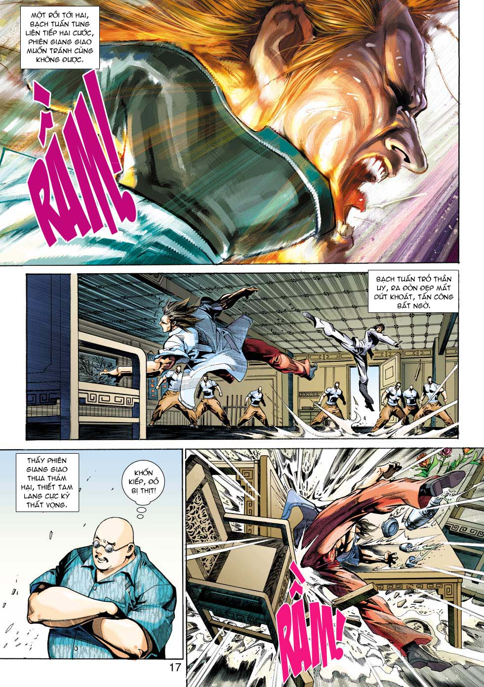Tân Tác Long Hổ Môn chap 343 - Trang 17