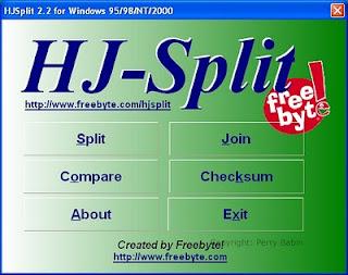 Como usar o HJ-Split