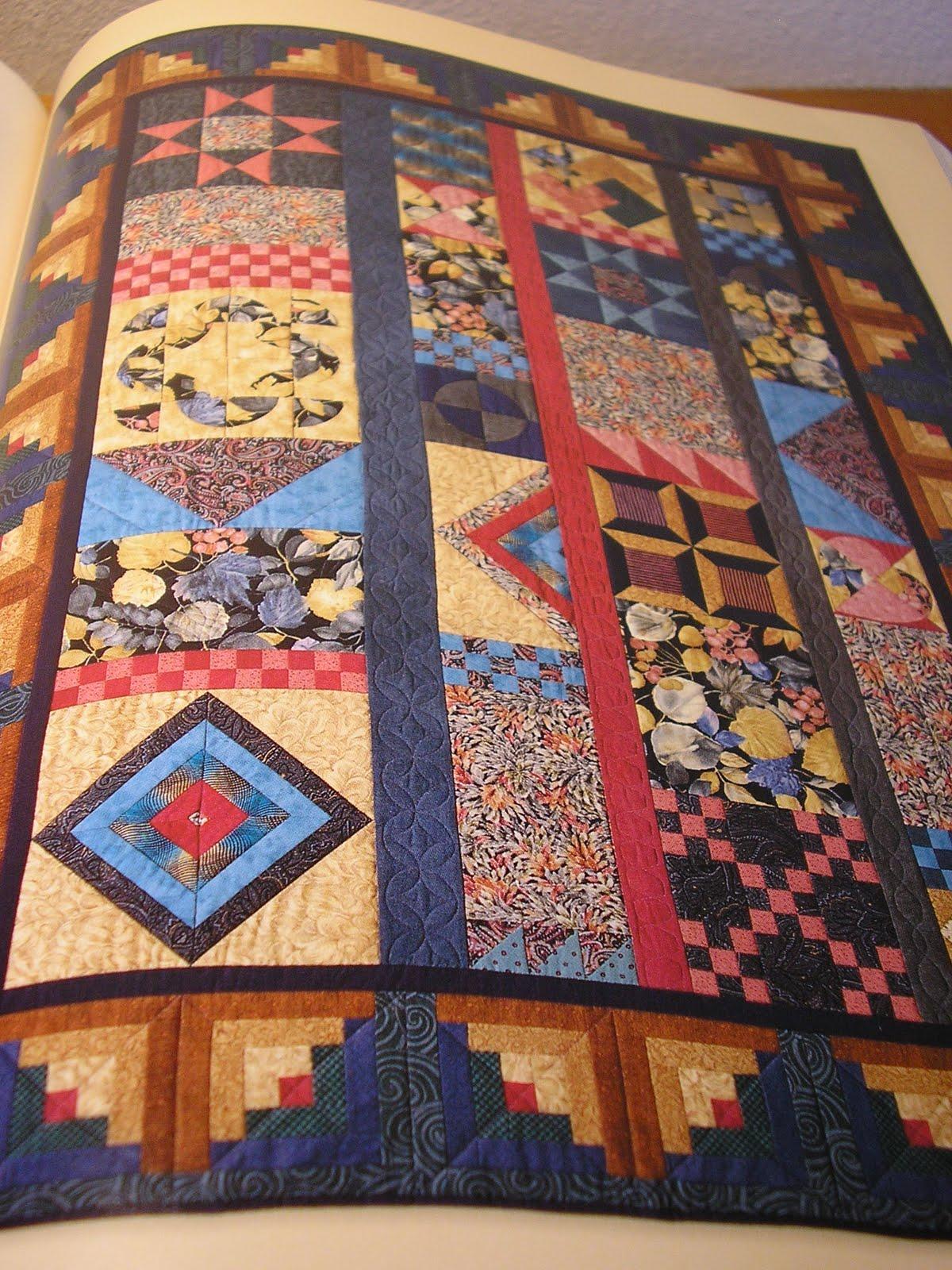 Quilt modern crazy quilt for Modern house quilts