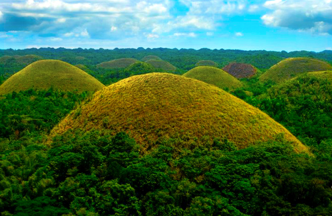 Chocolate Hills In Bohol Philippines But Why The Name