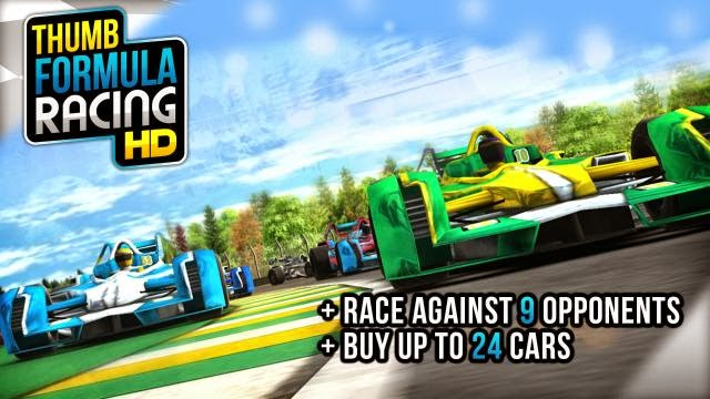 THUMB FORMULA RACING V1.0 APK MOD [UNLIMITED MONEY]