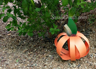 halloween toilet paper roll craft pumpkin