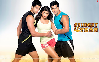 Student Of The Year- Hot Alia Bhatt, Varun Dhawan, Sidharth Malhotra Wallpaper