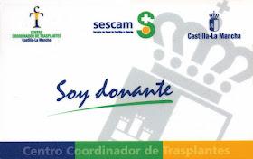 Mª Stma. de la Salud, Patrona de Donantes de Órganos