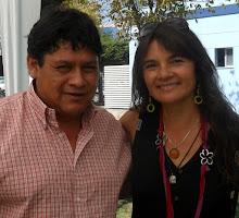 Con Marcela