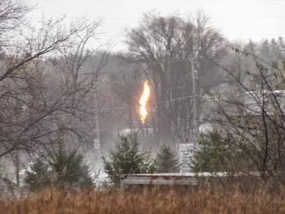 propane gas fire