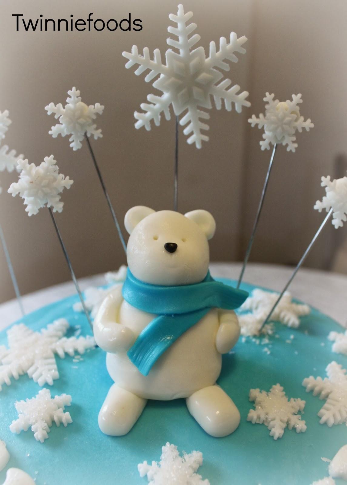Winter Themed 21st Birthday Cake Twinniefoods