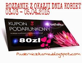 Do 5 kwietnia 2015 rozdanie Puderniczkama