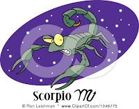 Ramalan Bintang Scorpio Hari Ini 2012