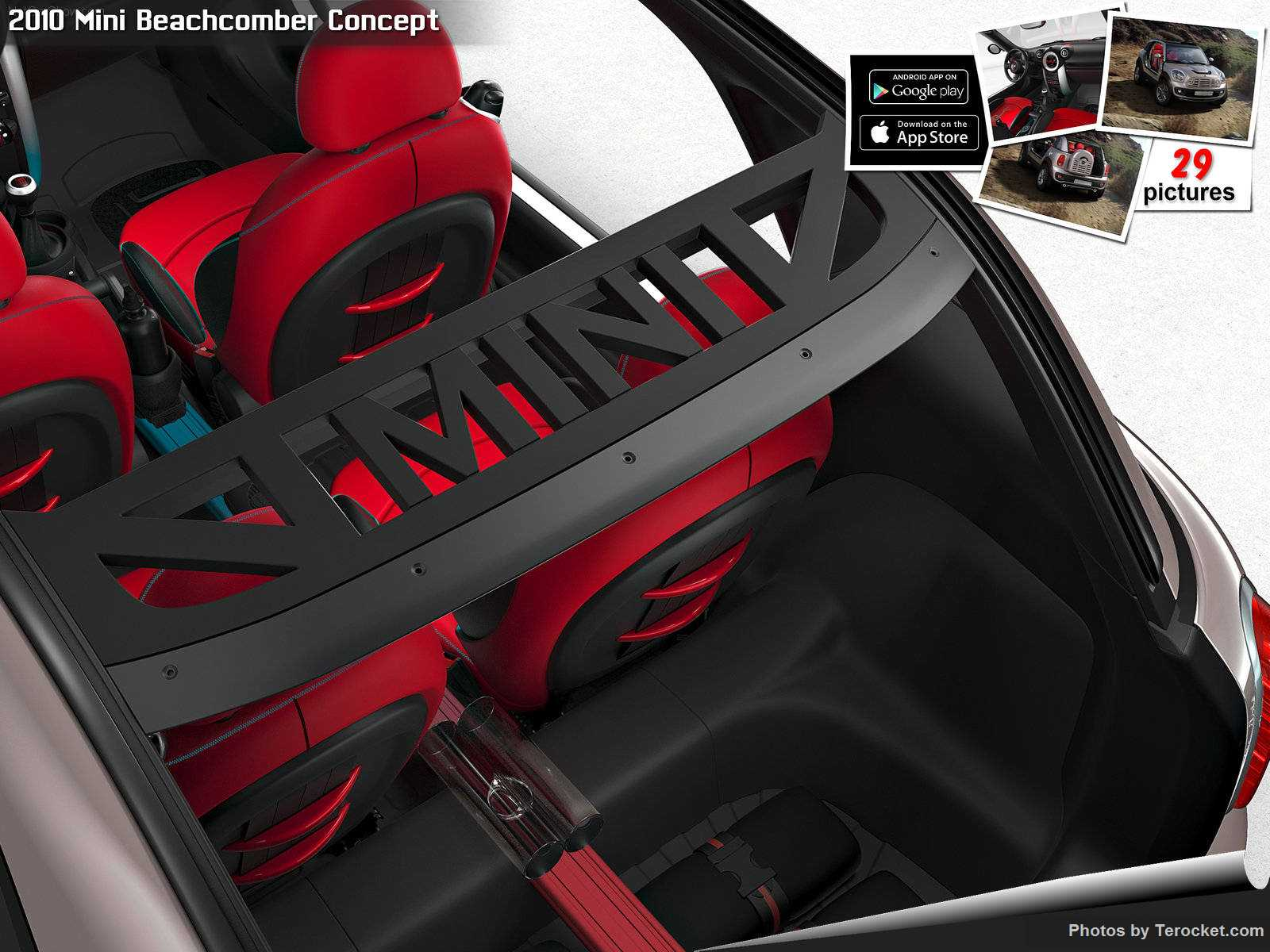 Hình ảnh xe ô tô Mini Beachcomber Concept 2010 & nội ngoại thất