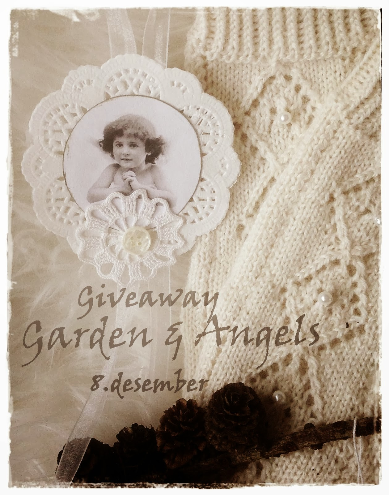 Give away hos Garden and Angels