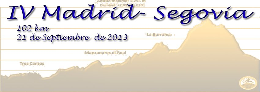 IV MADRID-SEGOVIA