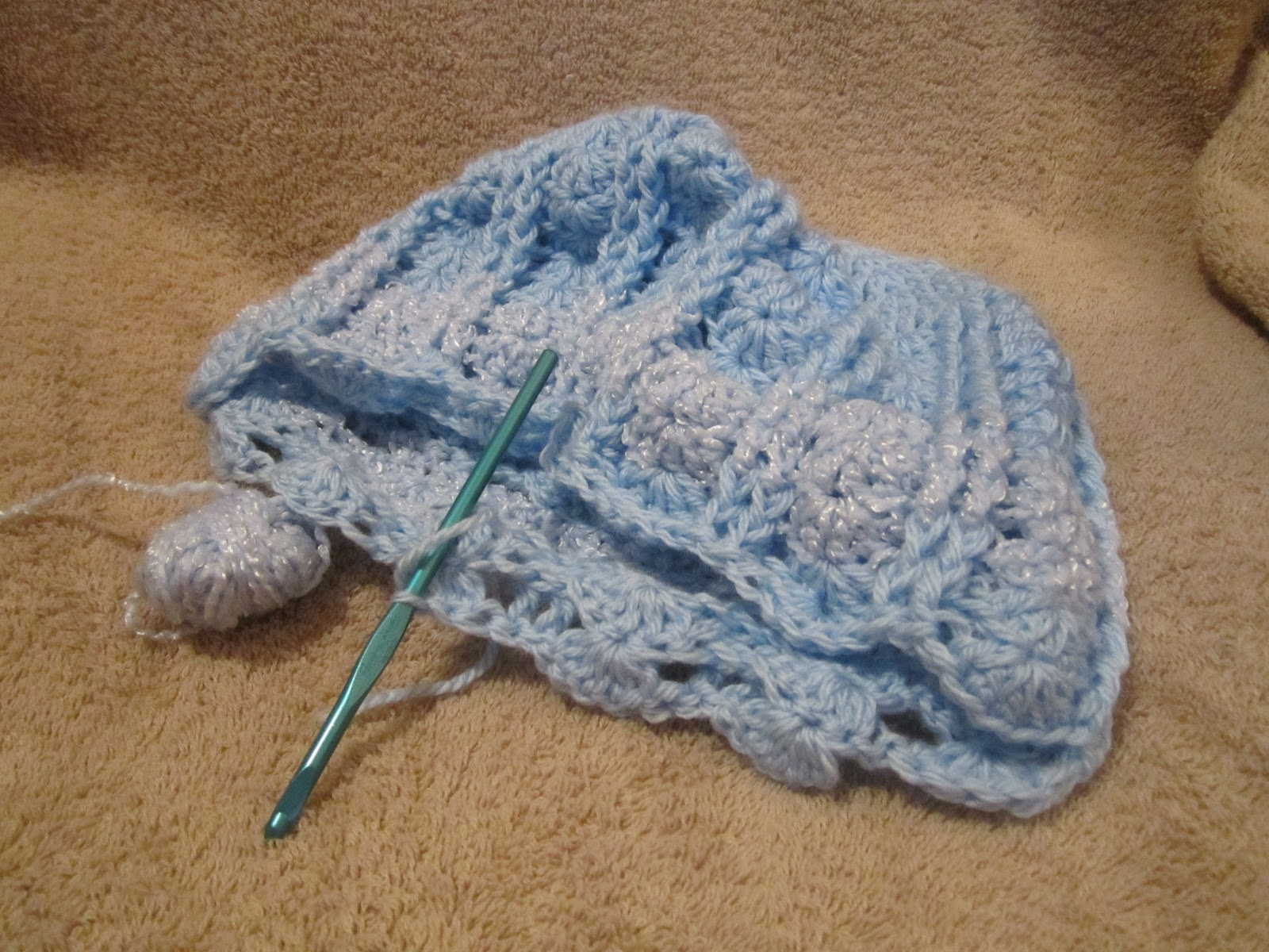 Crocheting Jobs : Crocheting Conversations: Job search and crocheting simultaneously!