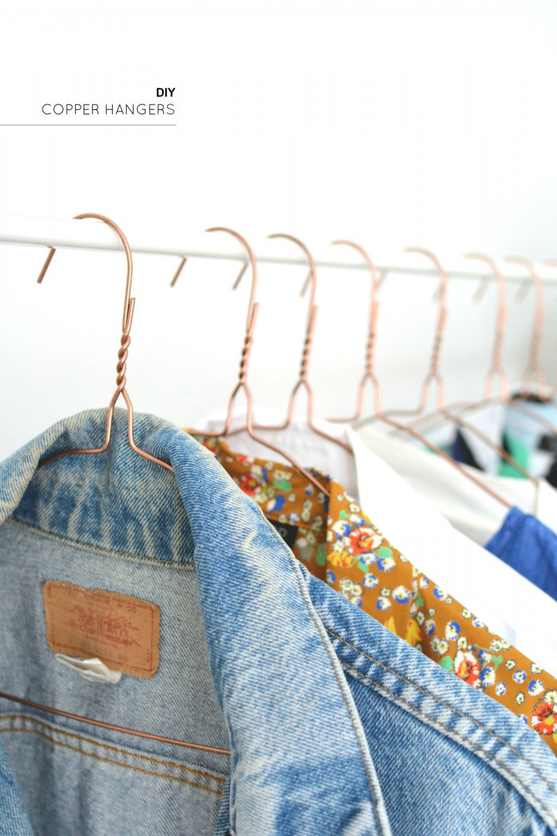 how to make clothes stay on hangers