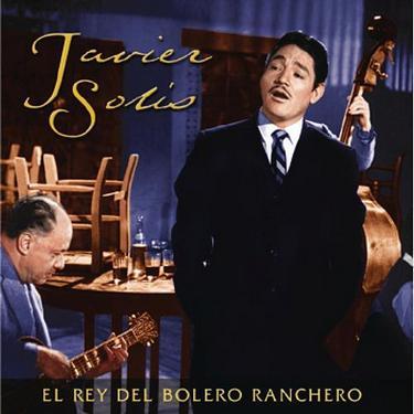 Javier Solis en portada de disco