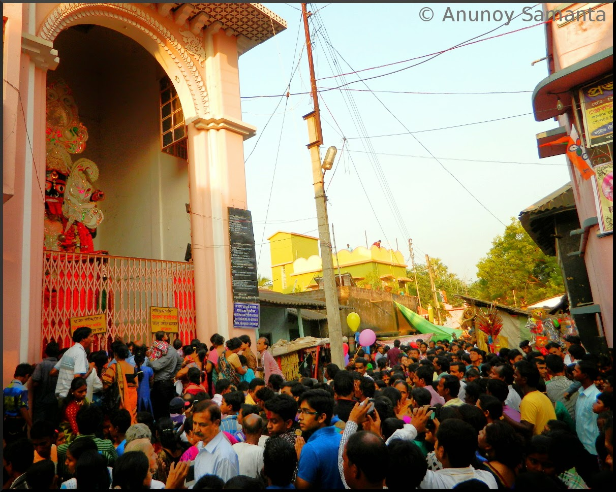 Barabelun Kali Puja and the Village Fair