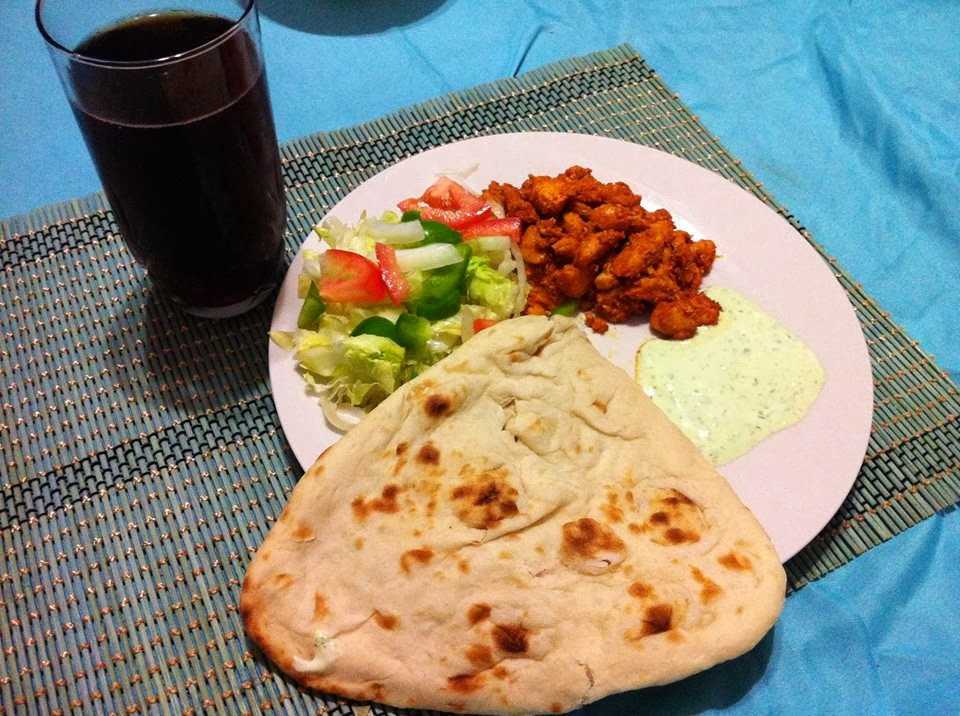 Chicken Tikka With Naan