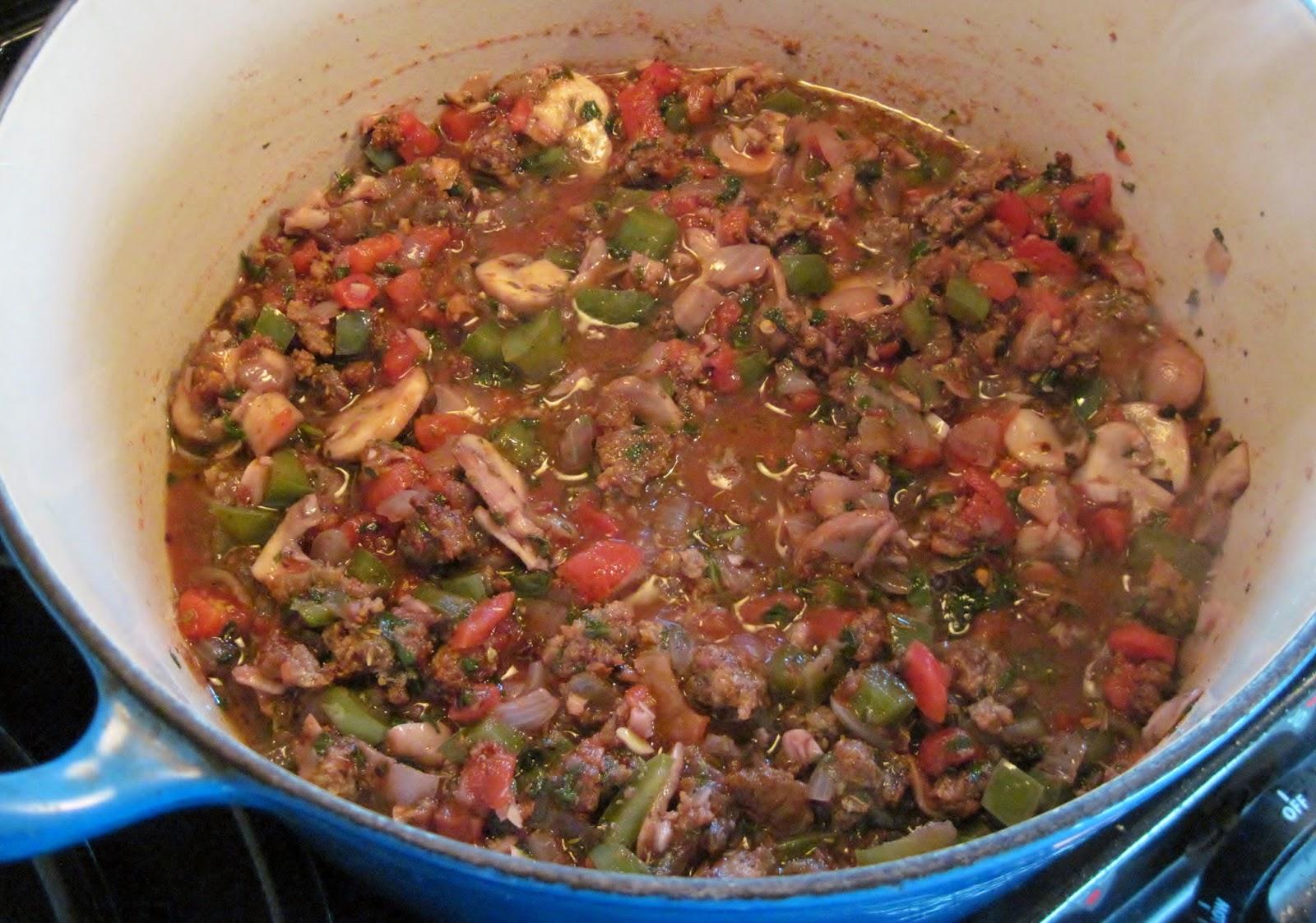 Recipe for Italian sausage casserole