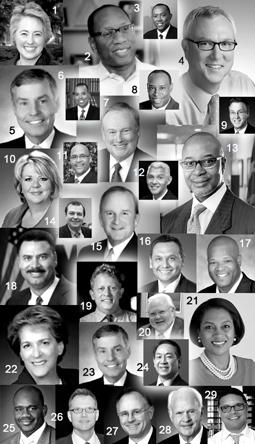 KEY PEOPLE YOU SHOULD GET TO KNOW IN THE CITY OF HOUSTON