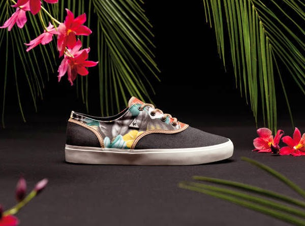Le Coq Sportif zapatillas estampado tropical
