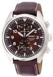 Seiko Men's SNN241 Chronograph Brown