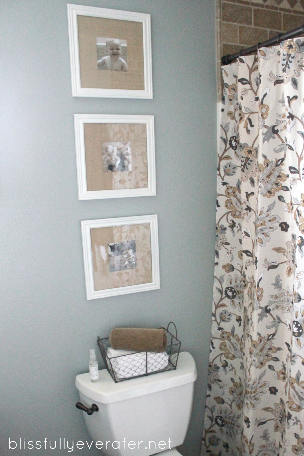knockoff pottery barn picture frames revamped