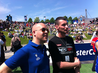 Jon Murphy and Arczi - PES 2012 Champions League Festival
