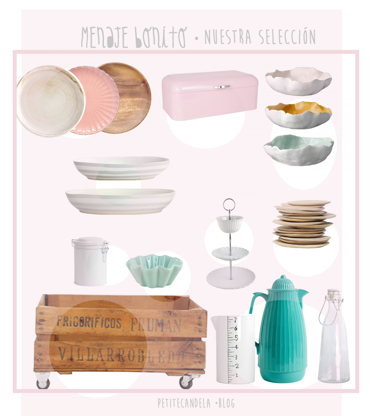 Petitecandela blog de decoraci n diy dise o y muchas for Lista de menaje de cocina