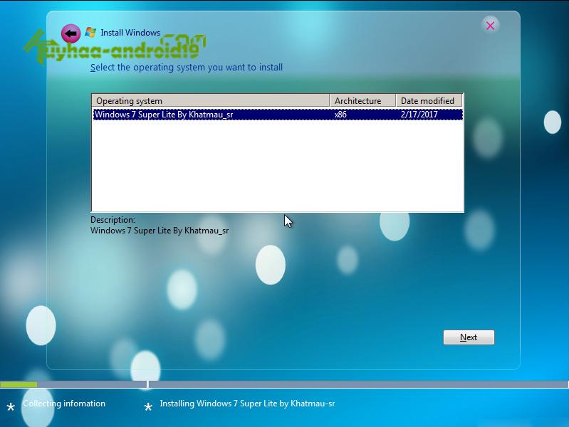 Windows 7 Super Lite Edition Version 2017 (x86) kuyhaa