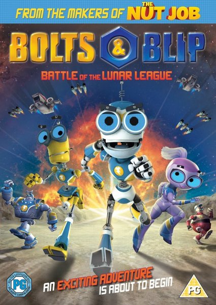 Bolts and Blip: Battle of the Lunar League - Review and Giveaway
