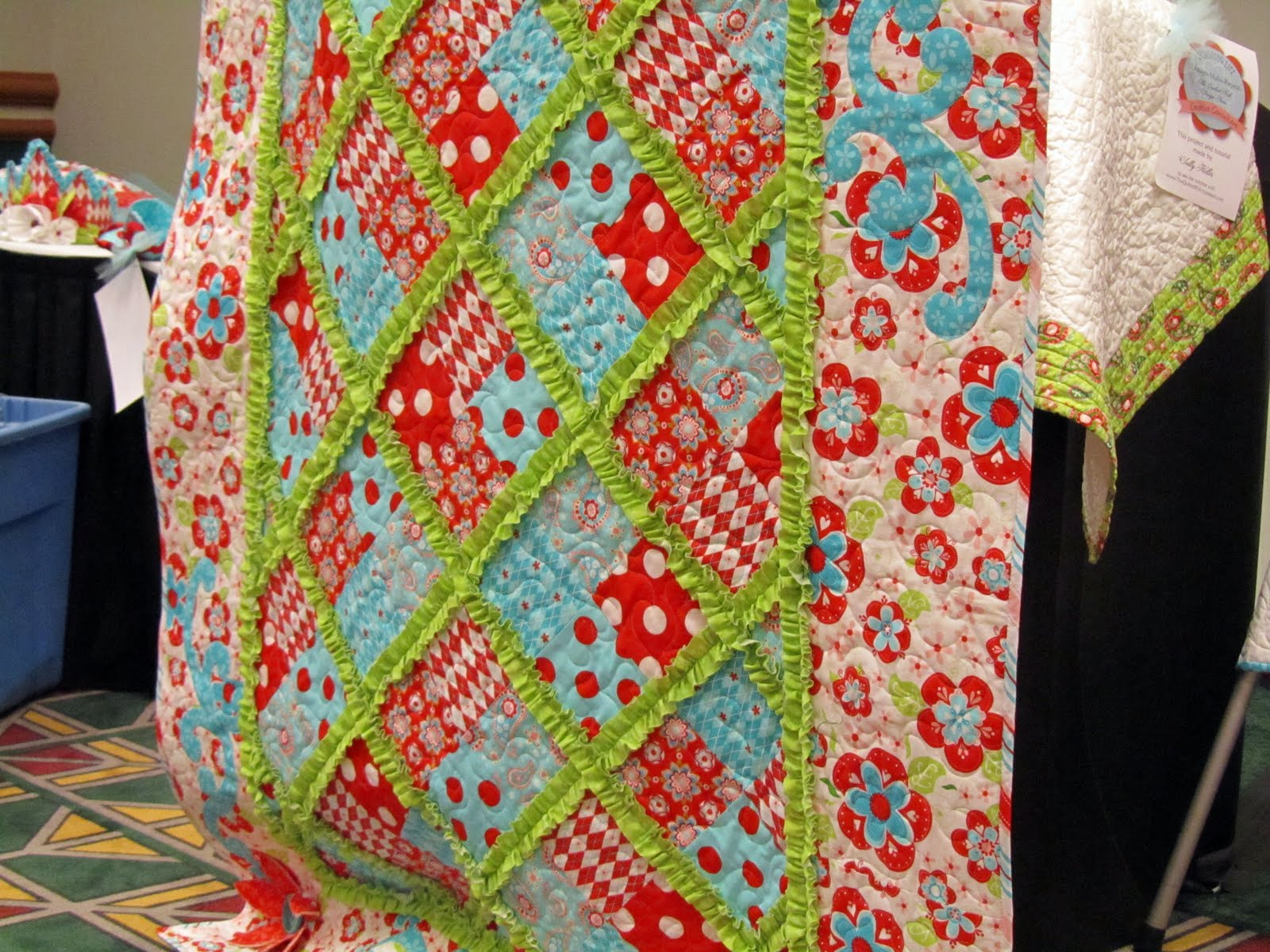 Made With Love: Quilt Market- Schoolhouse with The Quilted Fish