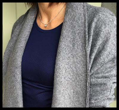My Midlife Fashion, Zara Wool Coat, Kettlewell Colours Silky crew neck