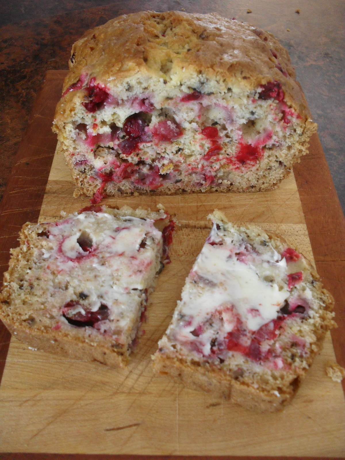 Little Bit of Everything: Cranberry Orange Loaf