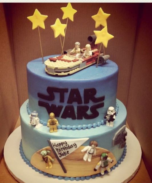Star wars Cake Pictures For Your Birthday Parties Unique ...