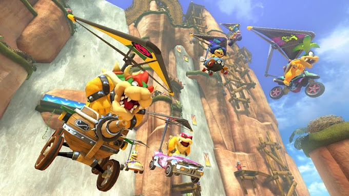 Mario Kart 8 Newcomers: The Koopalings