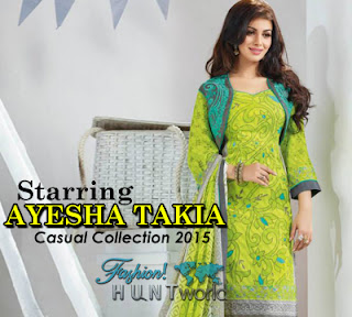 Starring Ayesha Takia Casual Collection 2015-2016