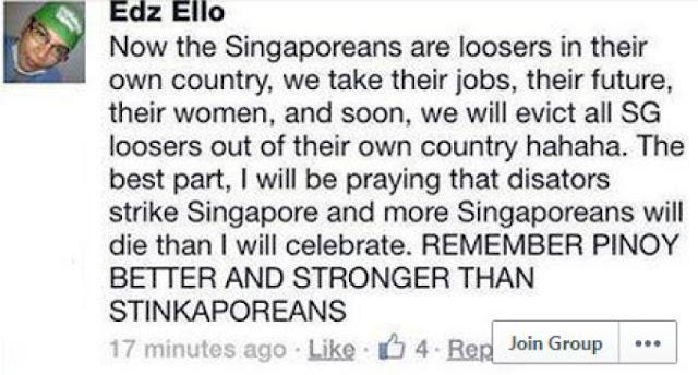 Edz Bello Facebook post