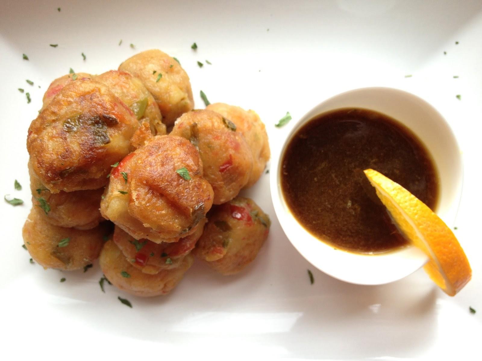 Cocina rico y facil con loida albondigas de patata y - Albondigas de patata ...