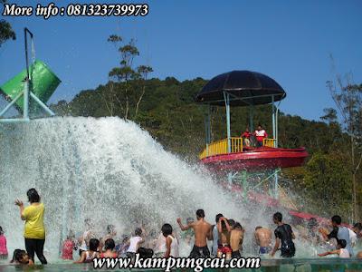 Water Boom di Kampung Cai