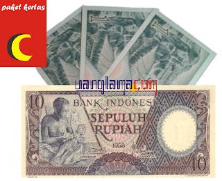 Paket Kertas 13 Rupiah C
