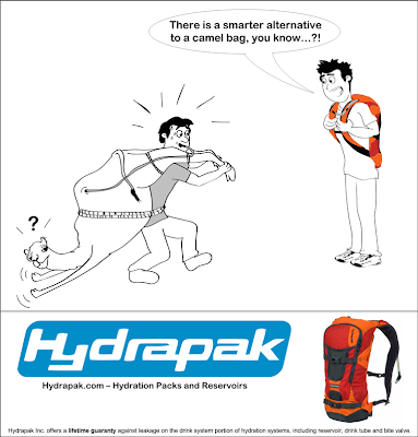 Hydrapak Big Sur - Camel Bag Alternative Funny Drawing