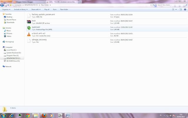 Copy ke 4 file ke external sdcard seperti gambar