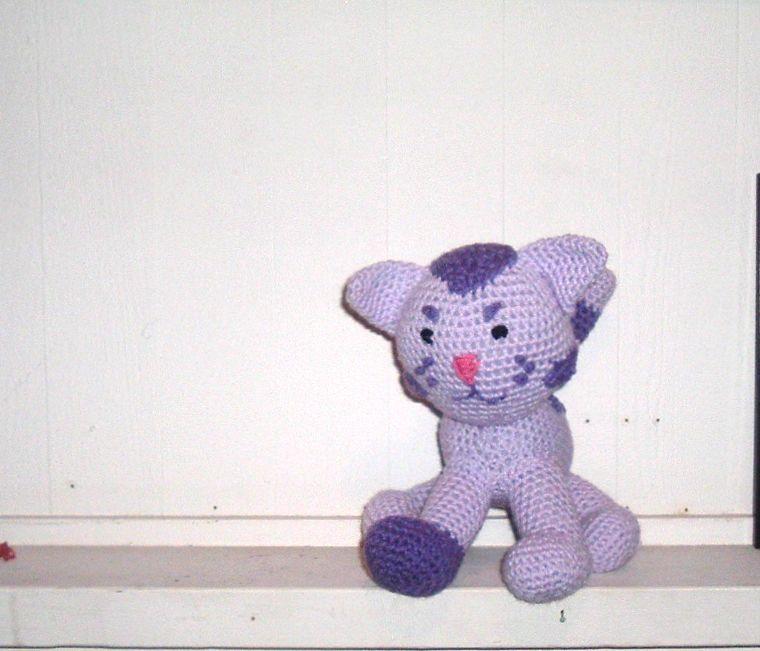 Nanette Crochet: Periwinkle Kitty from Blues Clues Pattern
