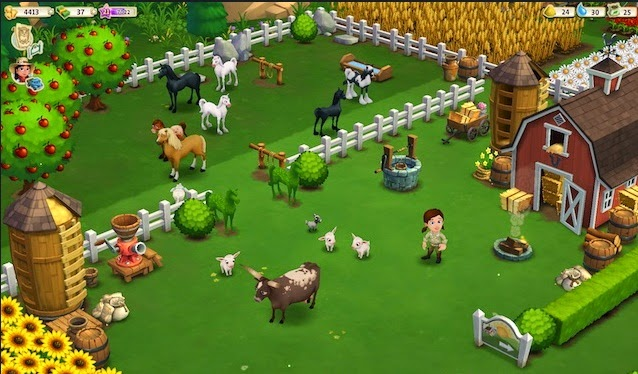 Game FarmVille Facebook