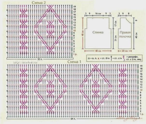 Схема вязания жилетки на мальчика 3 года 2