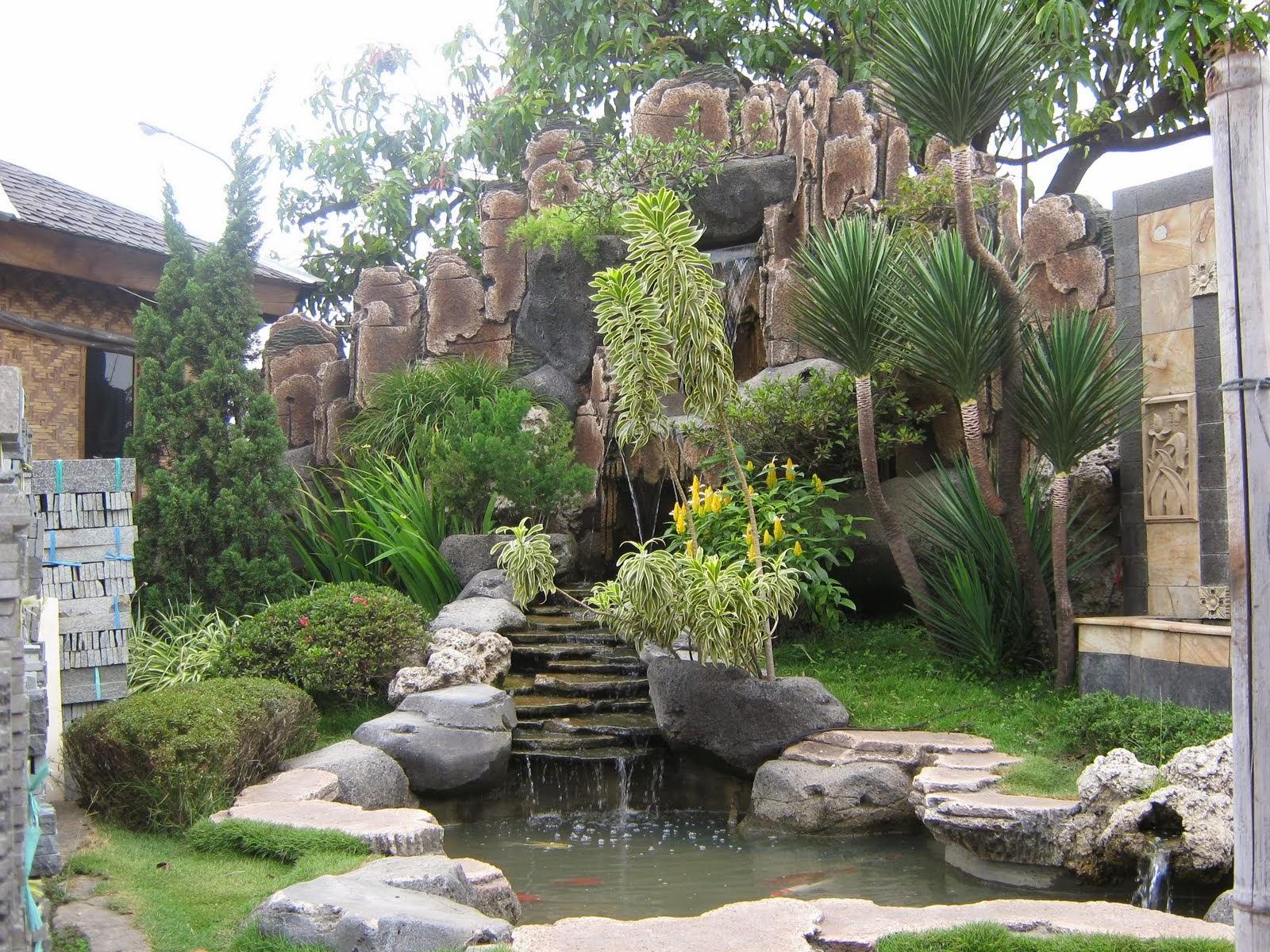 Contoh Karya Desain Taman Di Belakang Rumah Masa Kini